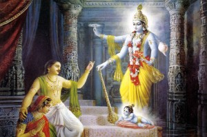Krishna 's birth