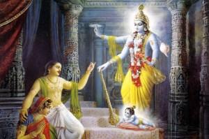 Krishna 's birth