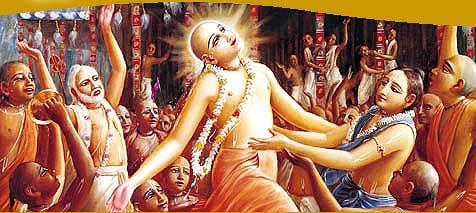 Chaitanya-Mahaprabhu-en-extase-d-amour-de-Dieu