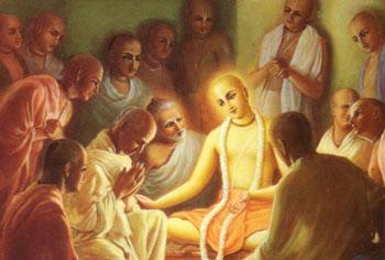 Chaitanya-Mahaprabhu-entour-de-Ses-d-vots-intimes