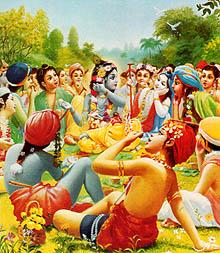 Krishna-au-milieu-des-p-tres