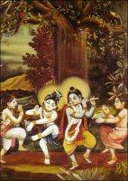 Krishna-Balarama-et-gopas