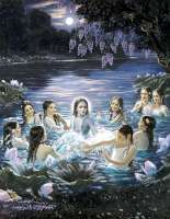 Krishna-con-gopis-en-el-agua
