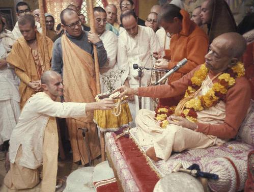 Initiation diksha: L'Initiation aux Saints Noms doit être reçue d'un maître spirituel authentique