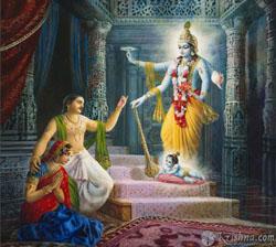 La-naissance-divine-de-Krishna