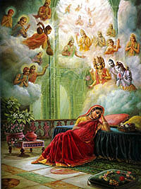 Prayers-by-the-Demigods-for-Lord-Krsna-in-the-Womb