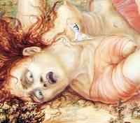 Krishna tue la sorcière Putana