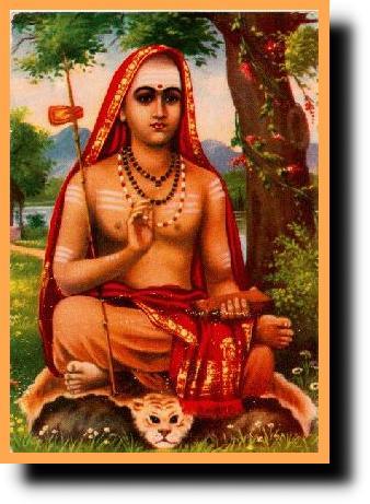 Sri Sankaracarya chassa les bouddhistes de l'Inde et rétablit l'autorité des vedas.