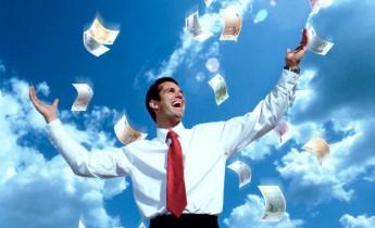 Happy money man