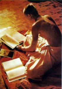 brahmana studying